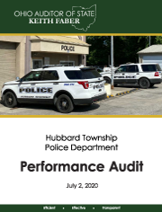 hubbard township report cover